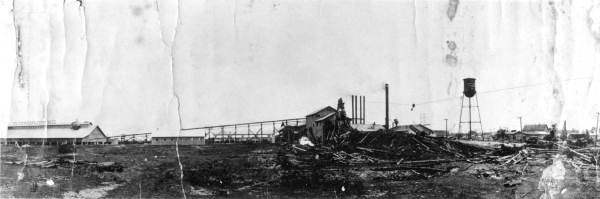 Everglades Cypress Company mill - Loughman, Florida.  191-?. Black & white photoprint, 8 x 10 in. State Archives of Florida, Florida Memory. <https://www.floridamemory.com/items/show/32681>, accessed 30 December 2016.