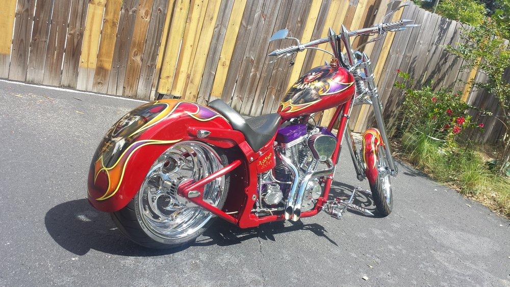 Art In Motion - Jokers Wild Chopper Motorcycle