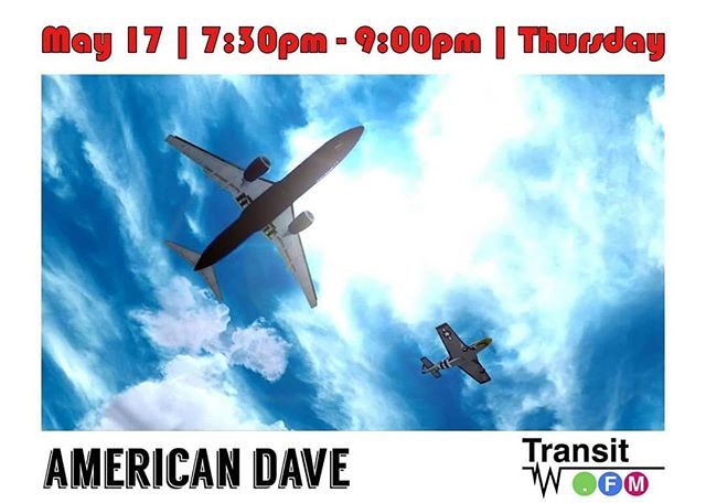 Stepping on deck is American Dave #stayinmotion #radio #transitfm #bass #electronicmusic