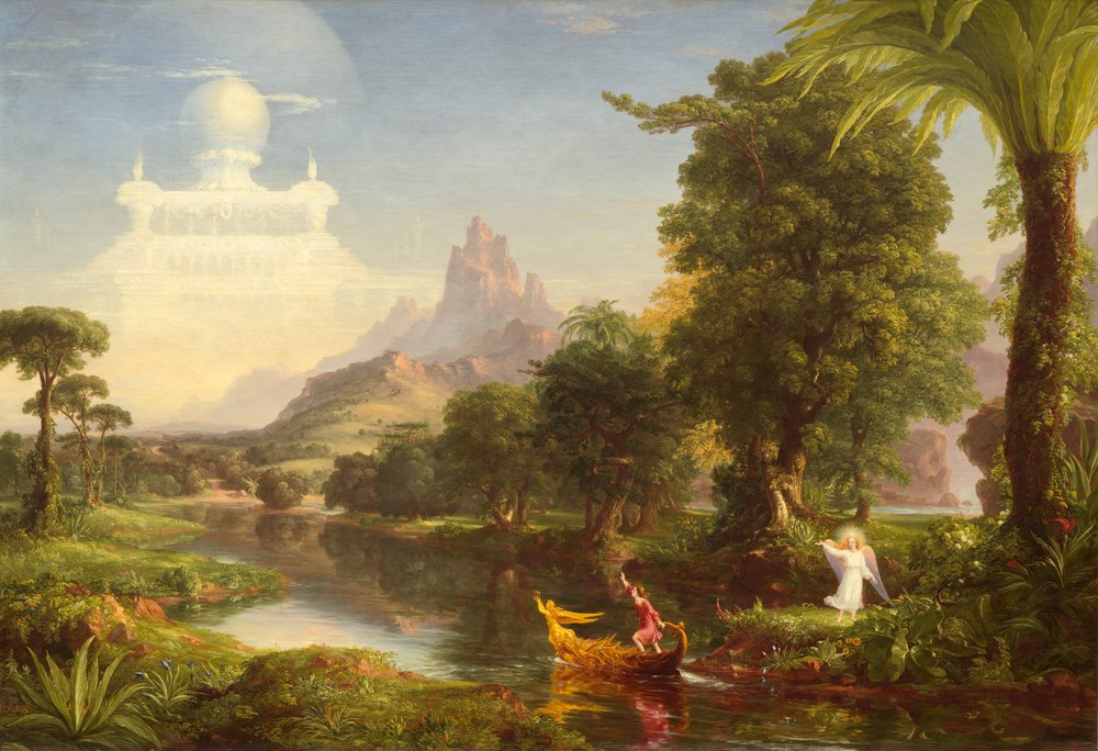"""""""Youth"""" by Thomas Cole"""