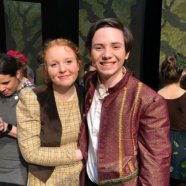"So proud of @josiah._.bartell who absolutely nailed it as Rapunzel's prince in ""into the Woods""!! His performance was the antithesis of agony :-)"