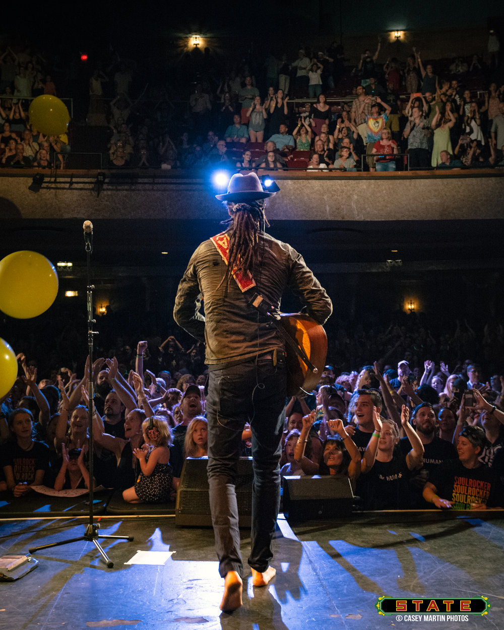Michael Franti at the State Theatre 2017 (Photo Credit: State Theatre of Ithaca)