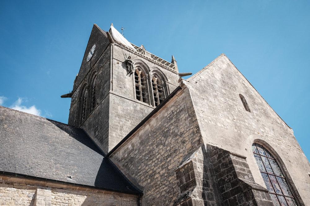 The Paratrooper Memorial, Sainte-Mère-Église
