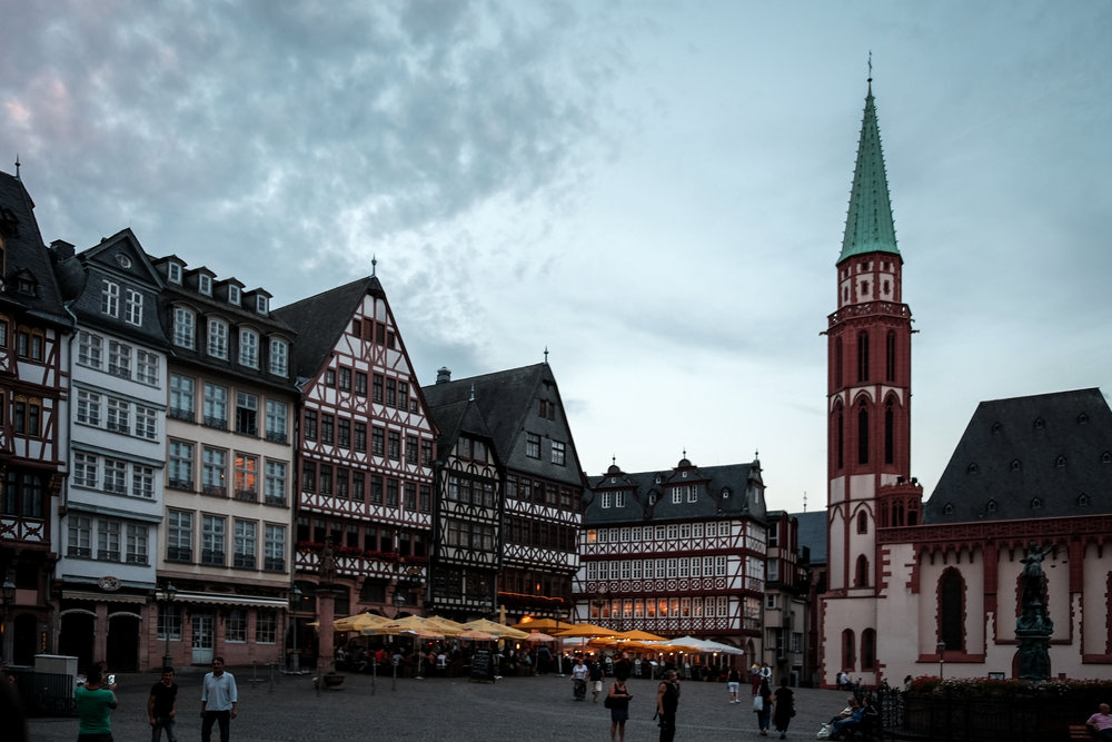Alstadt (old town), Frankfurt