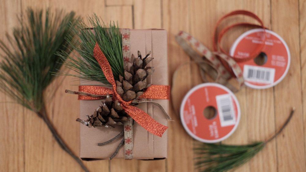 50. Kraft Christmas Wrap