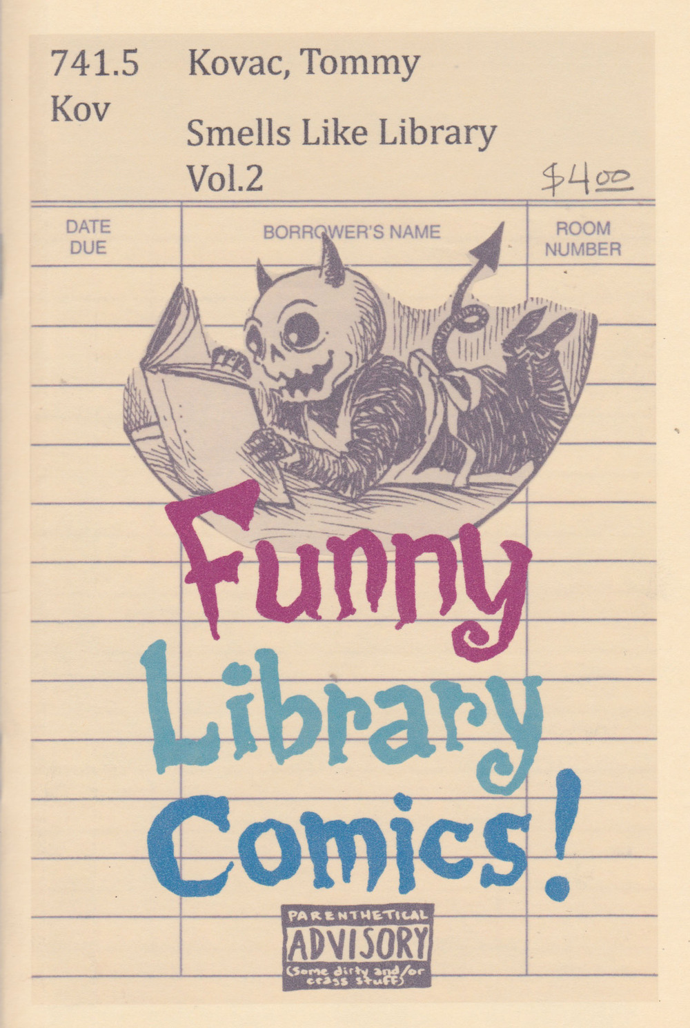 Smells Like Library: The Collected Comics Vol. 2