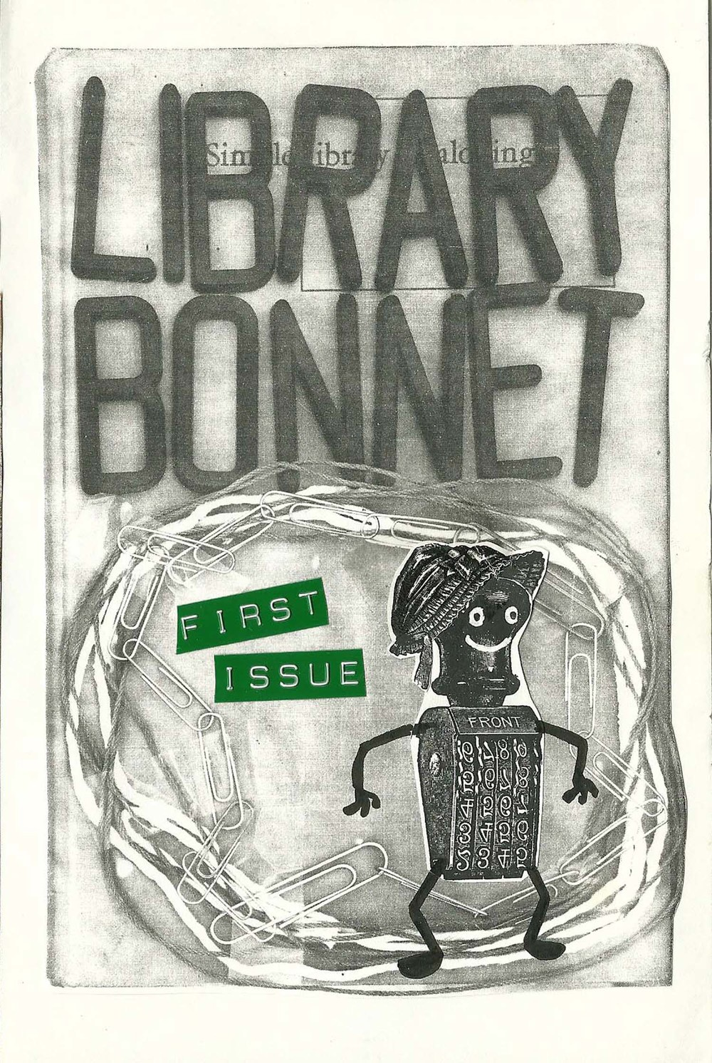 Library Bonnet #1