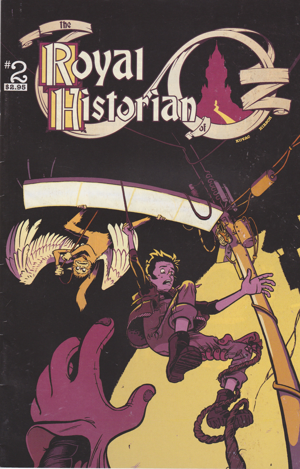 Royal Historian of Oz issue #2