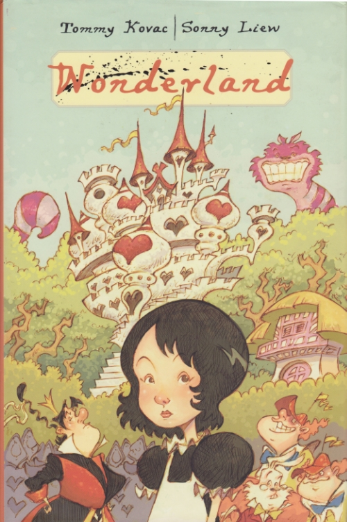 """Wonderland"" hardcover, Disney Press, 2008"