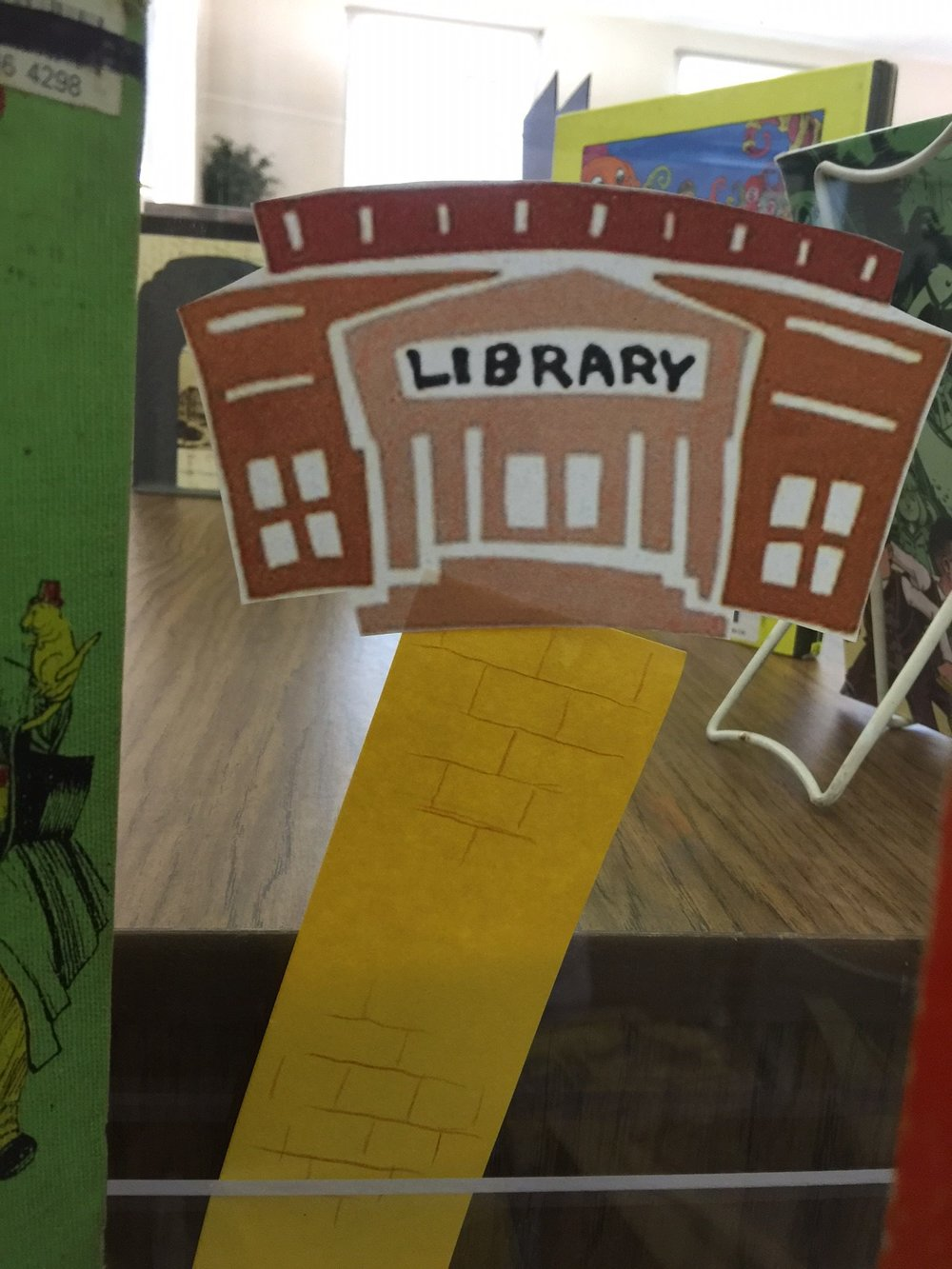Yellow Brick Road ends at the Library