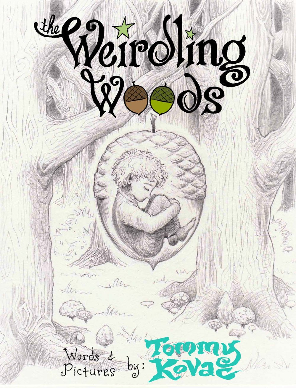 Weirdling Woods (art book)