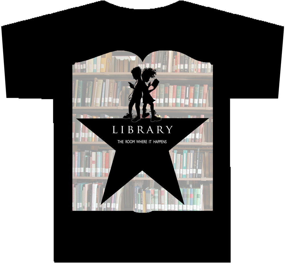 LIBRARY: THE ROOM WHERE IT HAPPENS T-Shirt