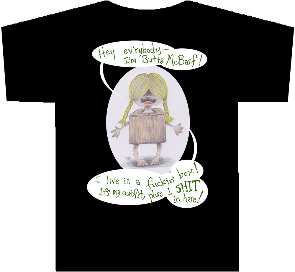 BUTTS MCBARF T-Shirt