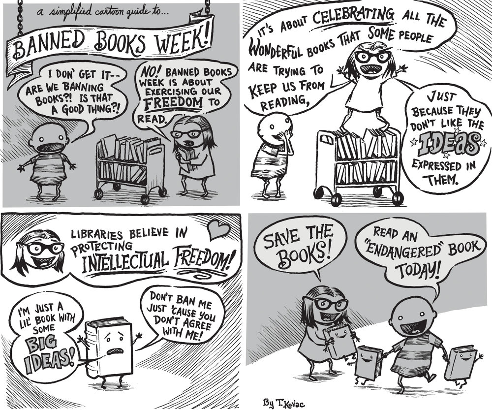 Banned Books Comic