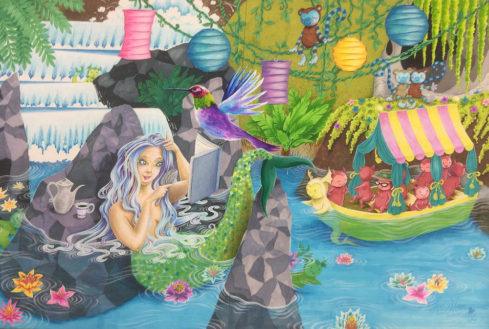 Mermaid Lagoon (for Mom)
