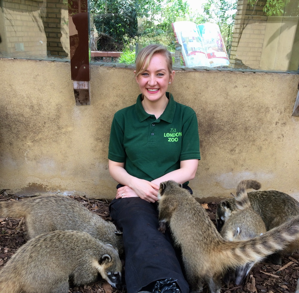 Michelle Thole ZSL London Zoo Volunteer