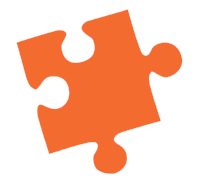 The Orange Puzzle Piece