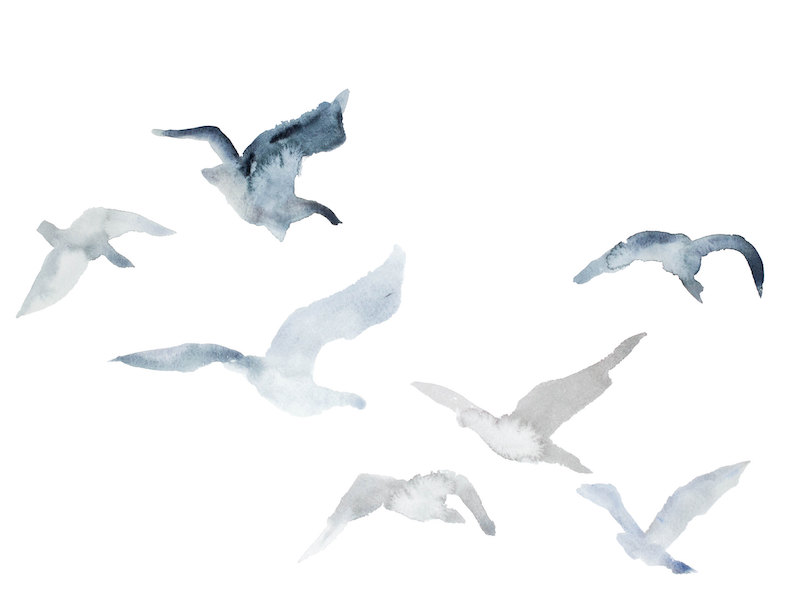 Winter Geese No. 3