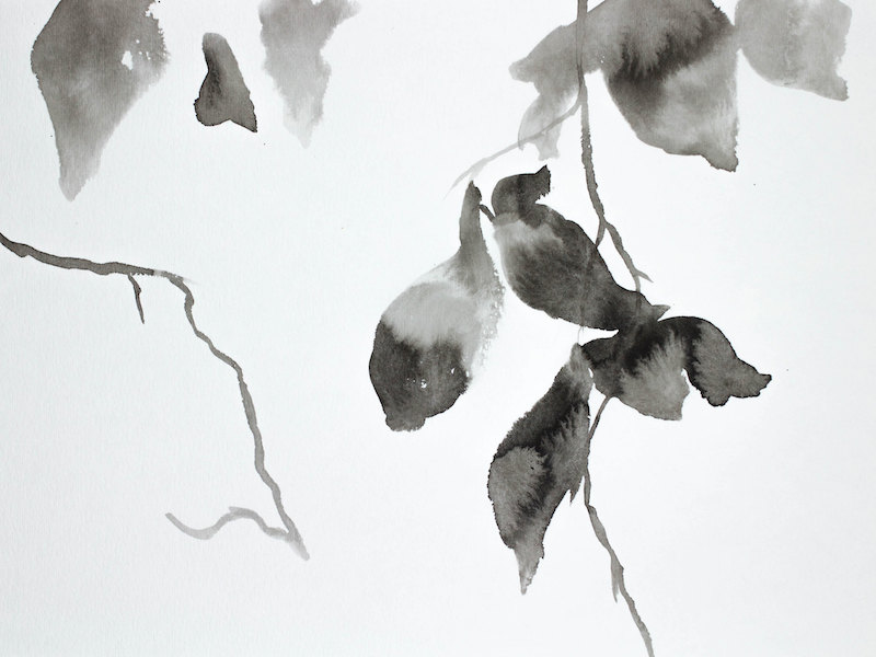 Hanging Leaves No. 6