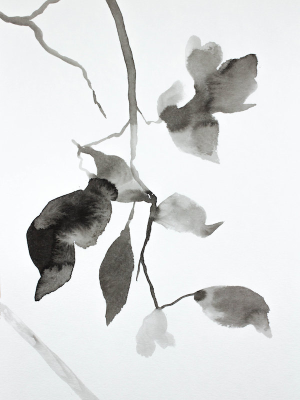 Hanging Leaves No. 7