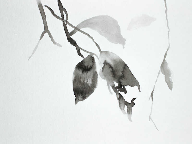 Hanging Leaves No. 8