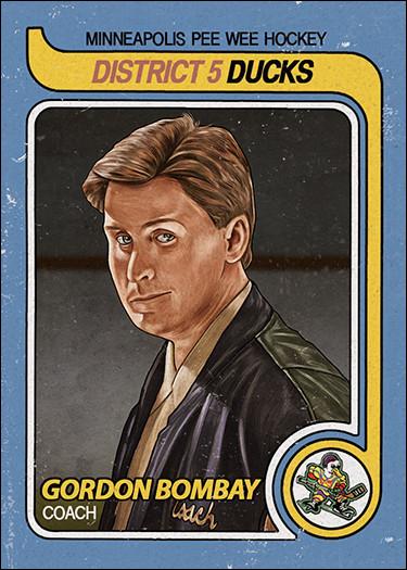 Gordon Bombay baseball card