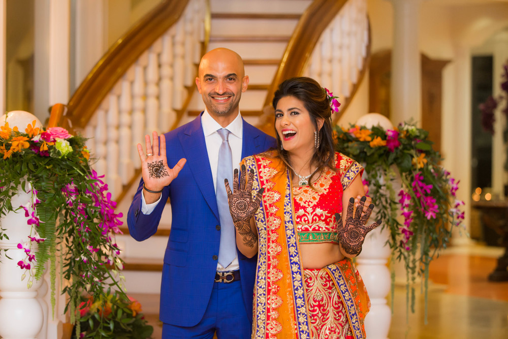 SHALINA & MOUSTAFA MAHZAR: MEHNDI/HENNA PARTY