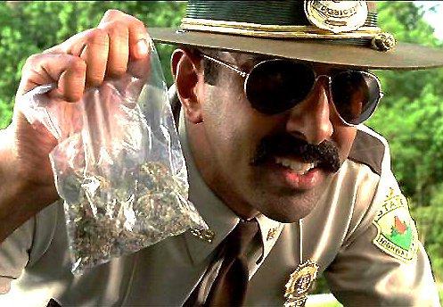 Caught by police with marijuana.?