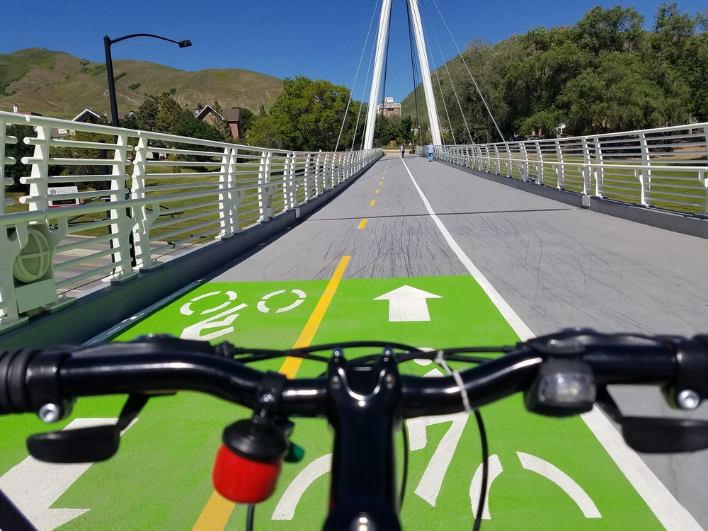 I get too excited about bike and ped bridges