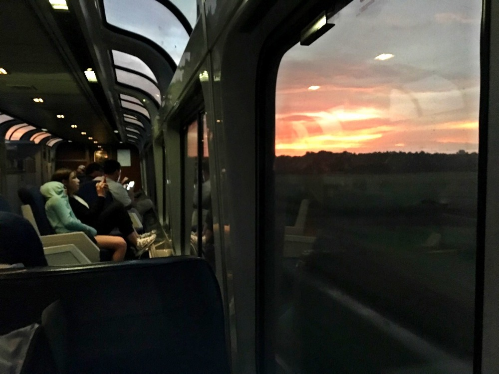 Entering New Orleans on Amtrak's Sunset Limited