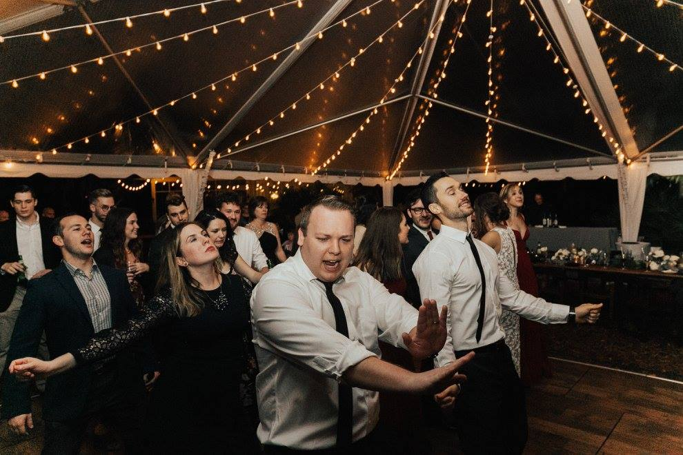 Dancing through our twenties like... (Photo brought to you by Vic Bonvicini Photography and Yuengling)
