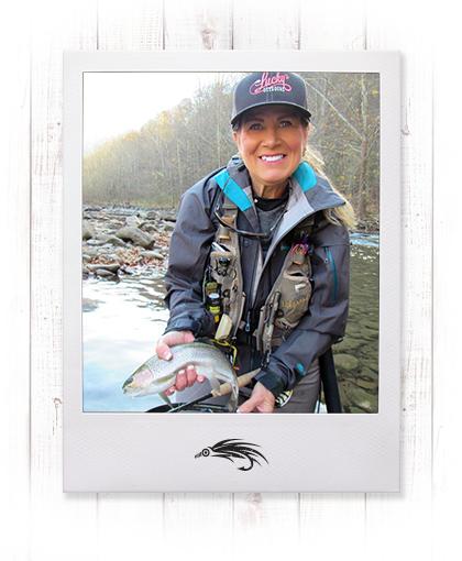 Pamela Caldwell Dunlap - Fly Fishing