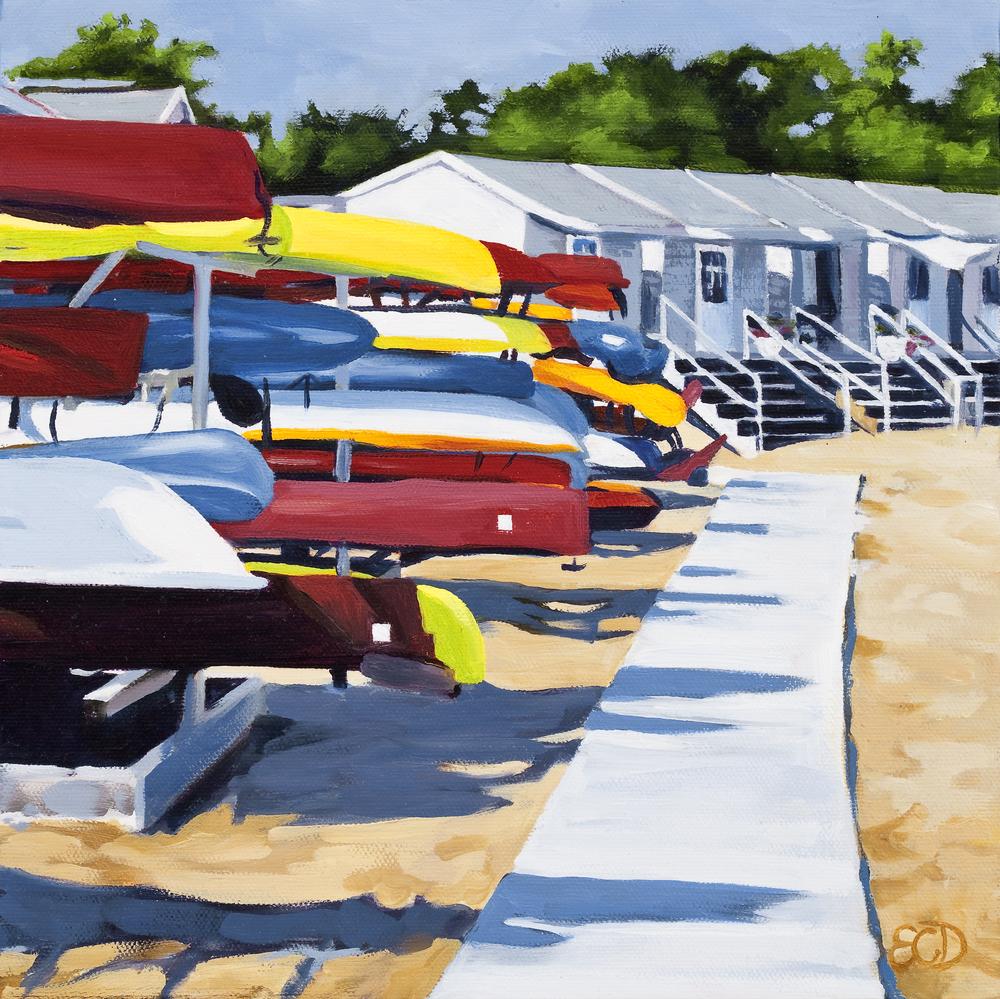 Kayak Row Shenorock NY (SOLD)