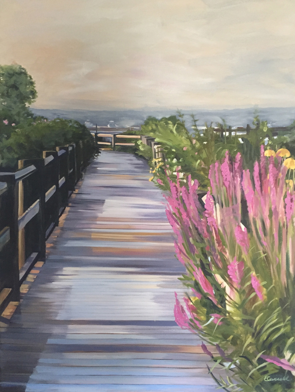 August Boardwalk, Martha's Vinyard