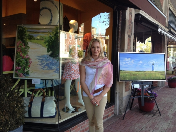 Art To The Avenue exhibition, Greenwich, CT - J. McLaughlin