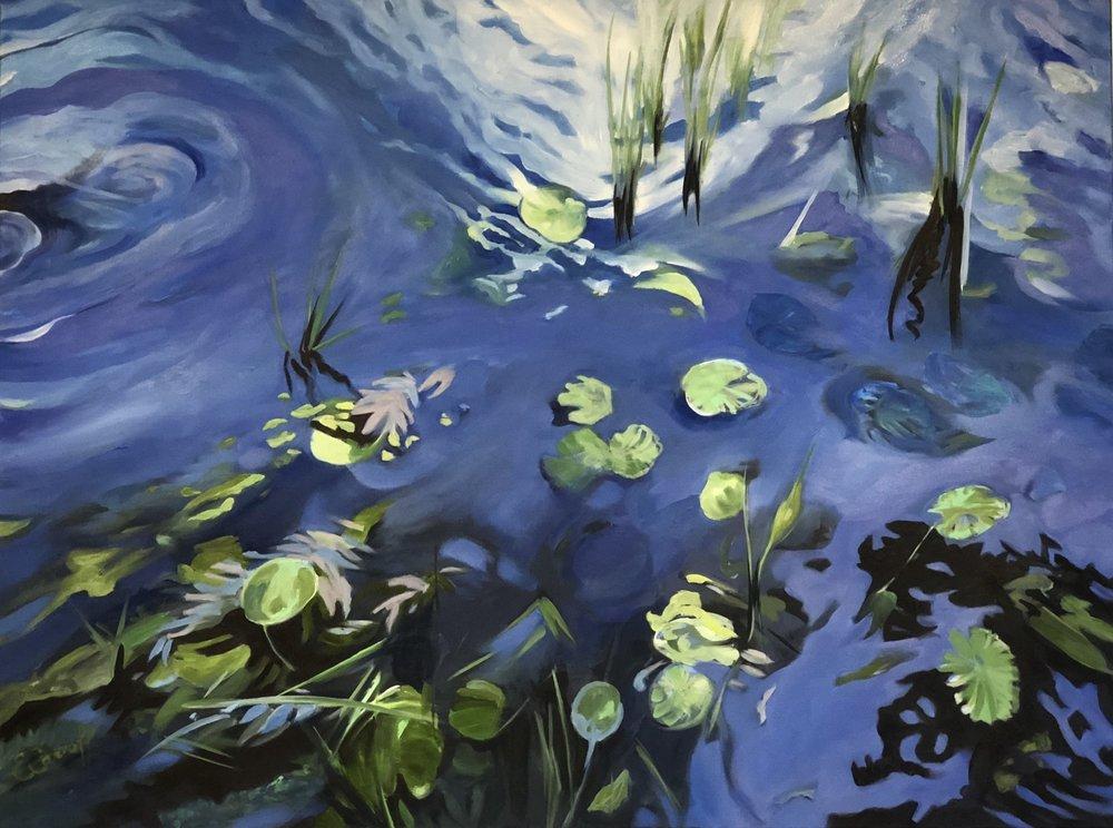 Splash, Midnight Lilies