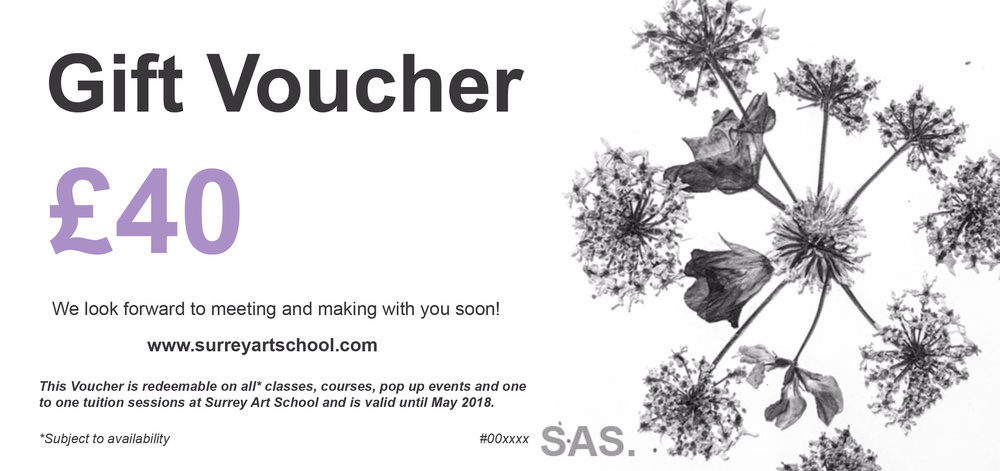 A sample E-voucher