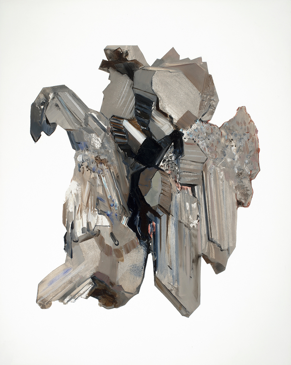Chalcocite oil and acrylic on panel 20x16, 2012