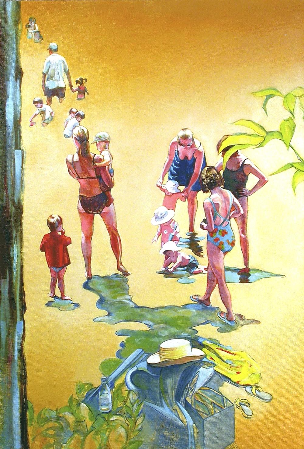 """Walden  oil on linen 32"""" x 22"""" 2003"""