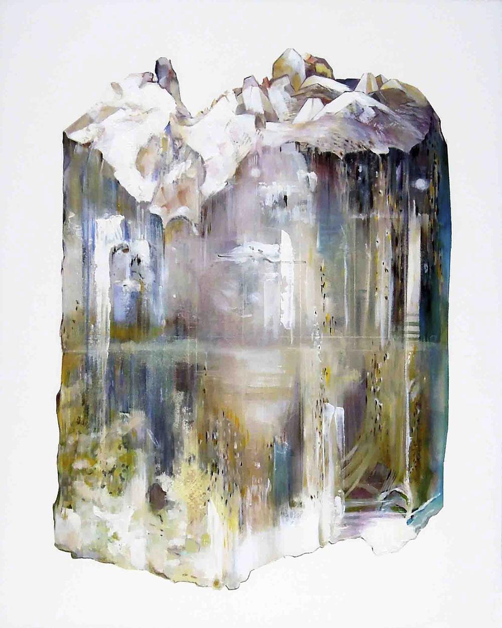 Topaz oil on panel 20x16, 2012