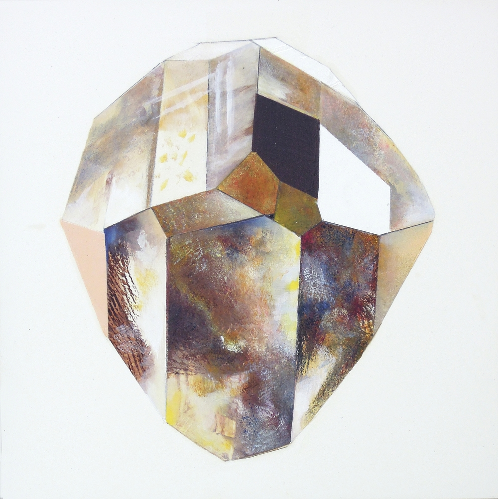 Topaz oil on clayboard 8x8, 2012