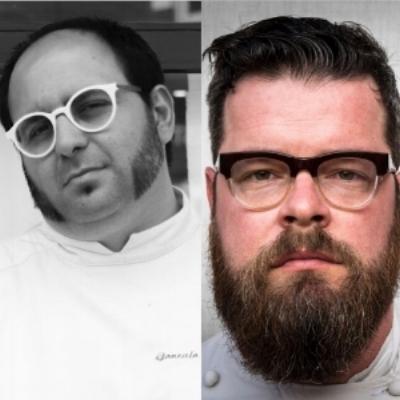 Chef Gonzalo Luzarraga & chef Eugenio Boer