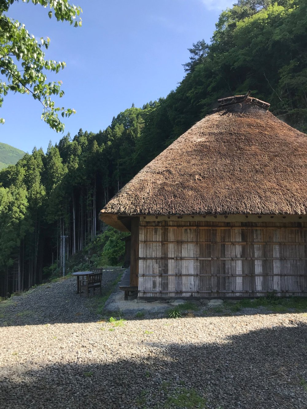 Our accommodation in the iya valley