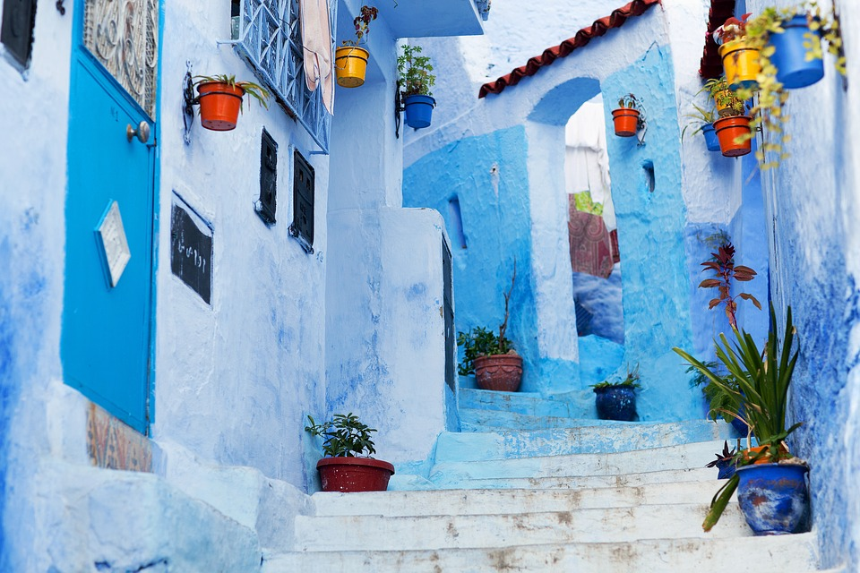 See Chefchaouen - the blue city