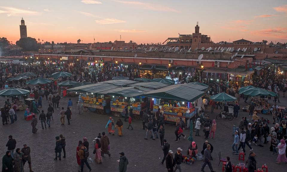 Explore Marrakech the time machine