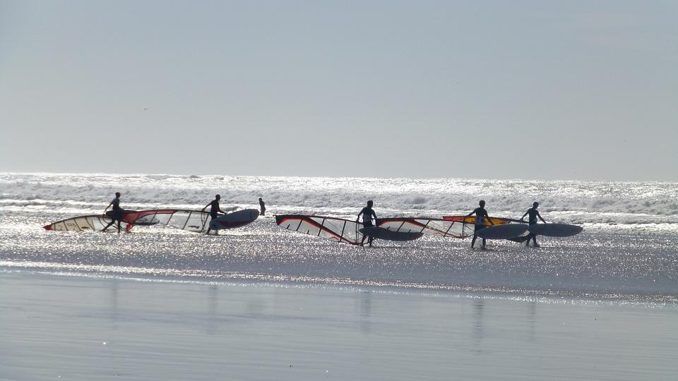 Windsurf in Essaouira