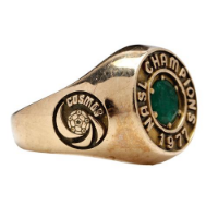 New York Cosmos 1972 NASL Championship Ring