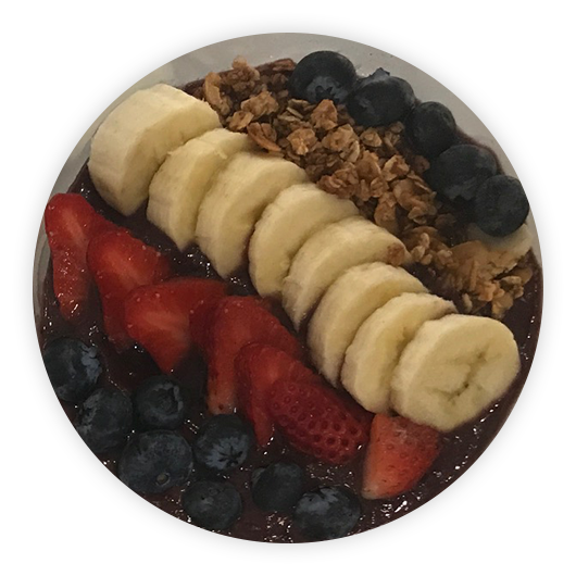 Classic Crave Acai Bowl at Henry's Sweet-Retreat