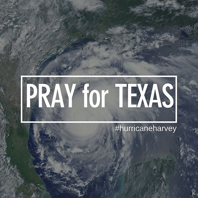 Even though the hurricane already made landfall there is still so much flooding and damages. Please pray for those affected all over Texas.