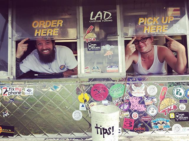 fancy new organization! #thesloppytaco #foodtrucklife #foodtruckfriends @__harperr